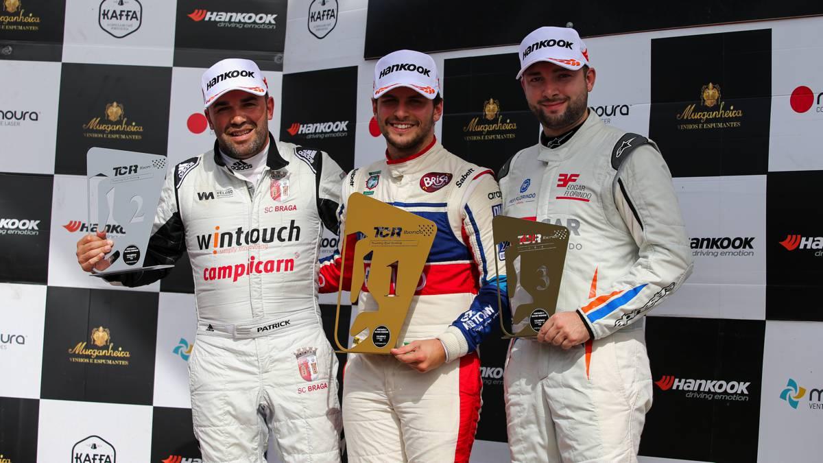 portimao tcr corrida 1 podio 2017
